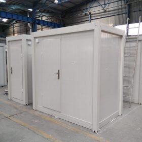 standaard sanitair unit metaal
